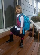 7th Sep 2010 - First Day ~ by Lisa