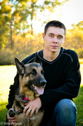 13th Oct 2013 - Ryan's Best Friend - Senior Photos