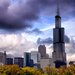 Stormy Day in Chicago by taffy