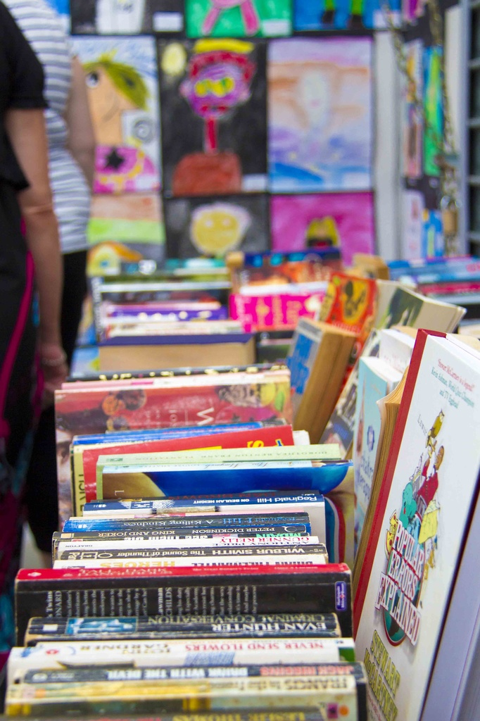 book stall  by corymbia