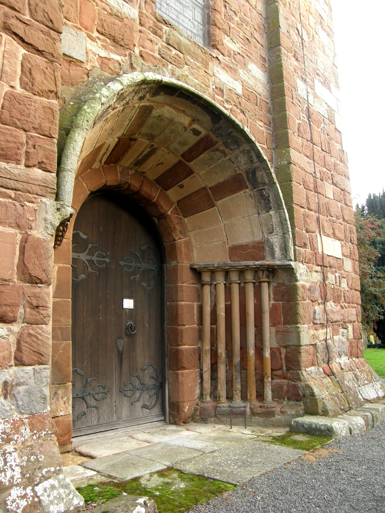 St Eata  -- the Norman Doorway in the tower by beryl