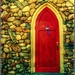 The Red Door by olivetreeann
