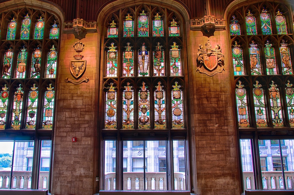 Cathedral Hall at the University Club by taffy