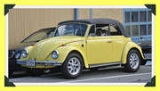 22nd Oct 2013 - 1969 Yellow VW convertible - the best car ever!