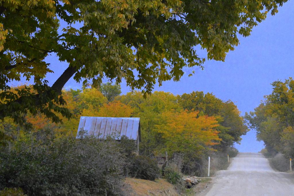 Autumn Kansas Country by kareenking