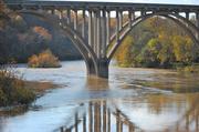 1st Nov 2013 - Seeing Autumn through my Bridge Spectacles