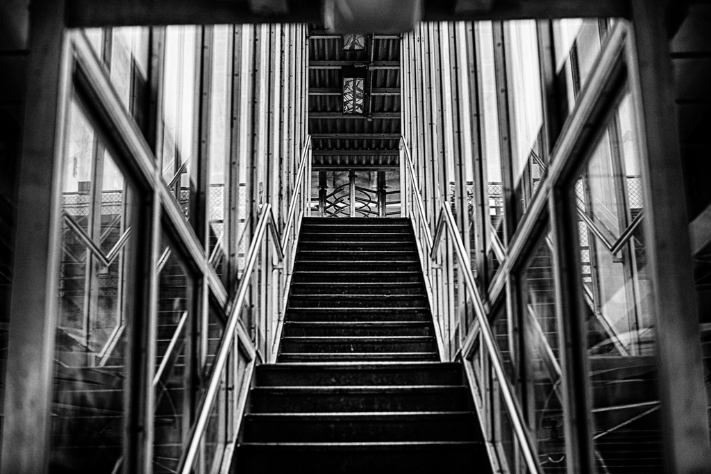 Stairway to...the Next Set of Stairs by taffy