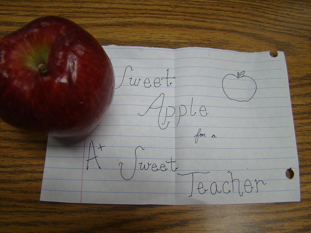 An Apple for the Teacher by dmrams