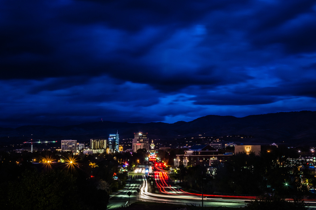 Drama over the Boulevard by pflaume