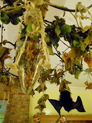 2nd Nov 2013 -  Bats and skeletons hanging from the chandelier.....