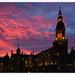 Veurne (Belgium) sunset by ivan
