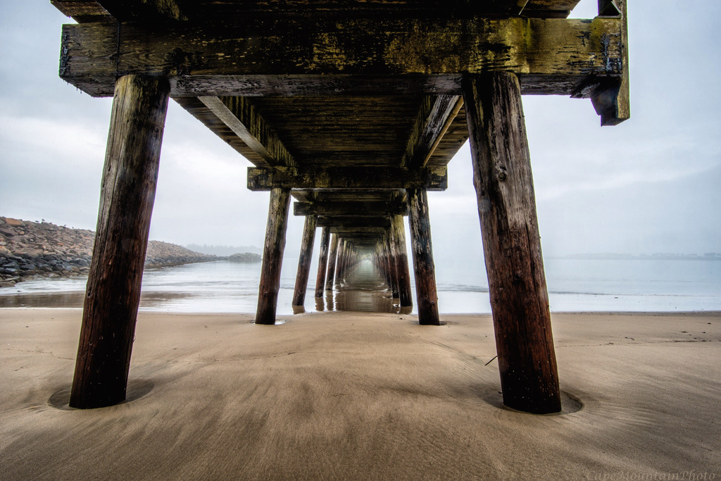 Under the Pier and Into the Light by jgpittenger