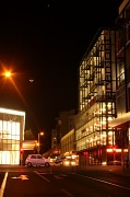 10th Sep 2010 - The new moon hangs over the lights of Clarement
