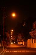 9th Sep 2010 - Gibson Road at night