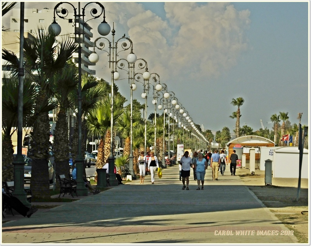 The Promenade,Larnaca,Cyprus by carolmw