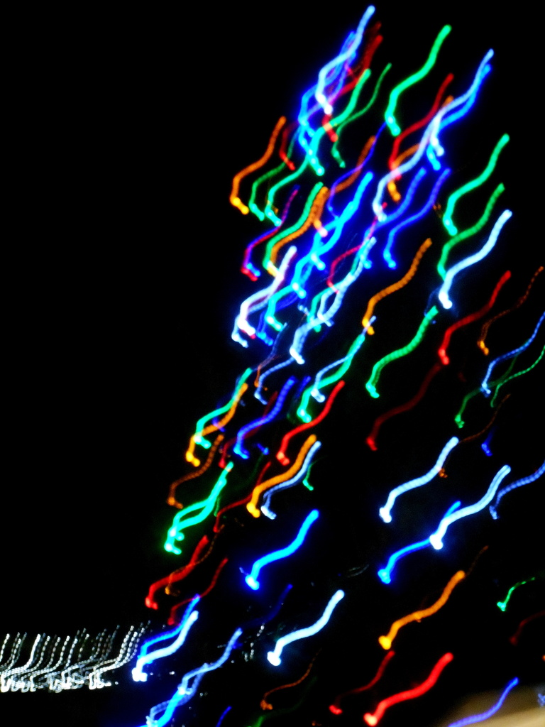 Psychedelic Christmas tree.... by snowy