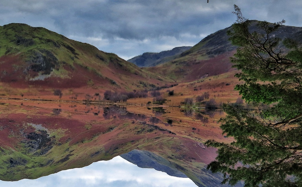 Crummock Water the Lakes by craftymeg