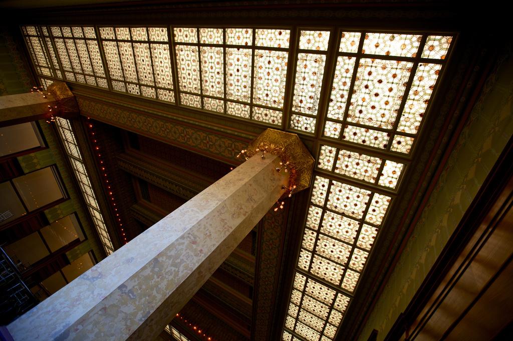 Chicago Stock Exchange Trading Room at Art Institute by jyokota