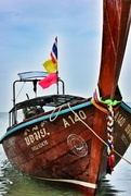 4th Dec 2013 - Thai Longtail boat