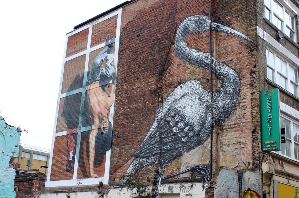 Street Art  by bizziebeeme