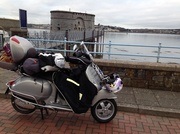 28th Nov 2013 - The Vespa and I went to Ireland via Pembroke on the overnight ferry