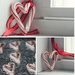 Candy Cane Heart Decorations by Allison