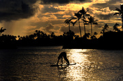 18th Dec 2013 - Surfboard Yoga at Sunset on Oahu