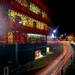 Christmas Shopping light trails crop by seanoneill