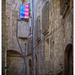 Courtyard in Todi, Umbria, Italy by ivan