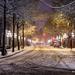 Abbott Street Snow by abirkill