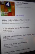 20th Dec 2013 - Listening on my iPad