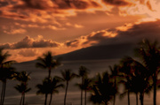 22nd Dec 2013 - Sunset from Kaanapali Beach on Maui (with a new toy!)