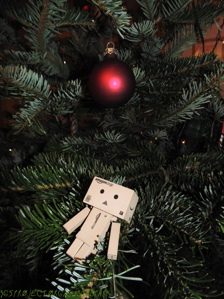 Lost in the Christmas Tree :-) by justaspark
