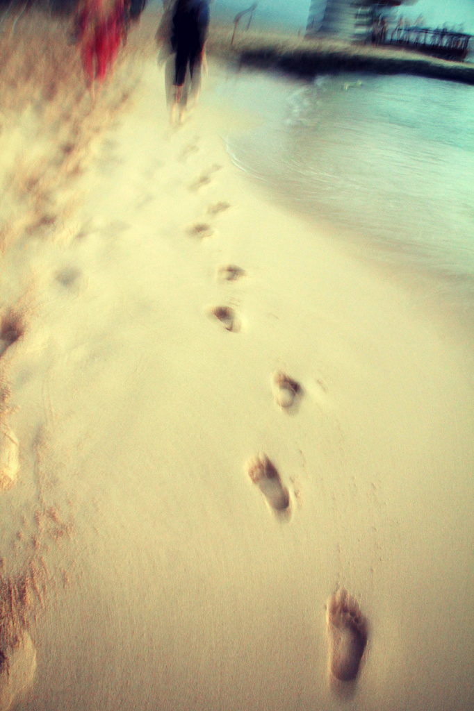 Footsteps by pdulis