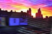 22nd Dec 2013 - Night sky from a speeding train..