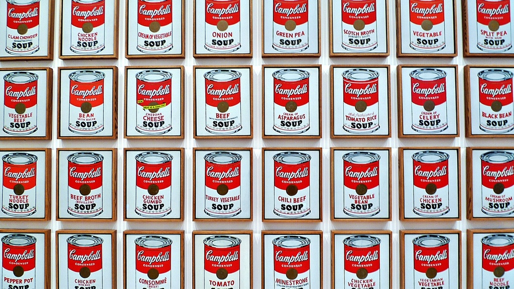 Campbell's Soup Cans,  Andy Warhol,  1962 by soboy5