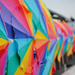 Rainbow Umbrellas by alophoto