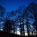 Dusk on Croft Hill by shepherdman
