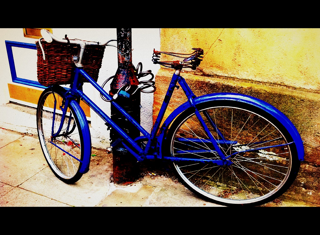 The Blue Bike by rich57