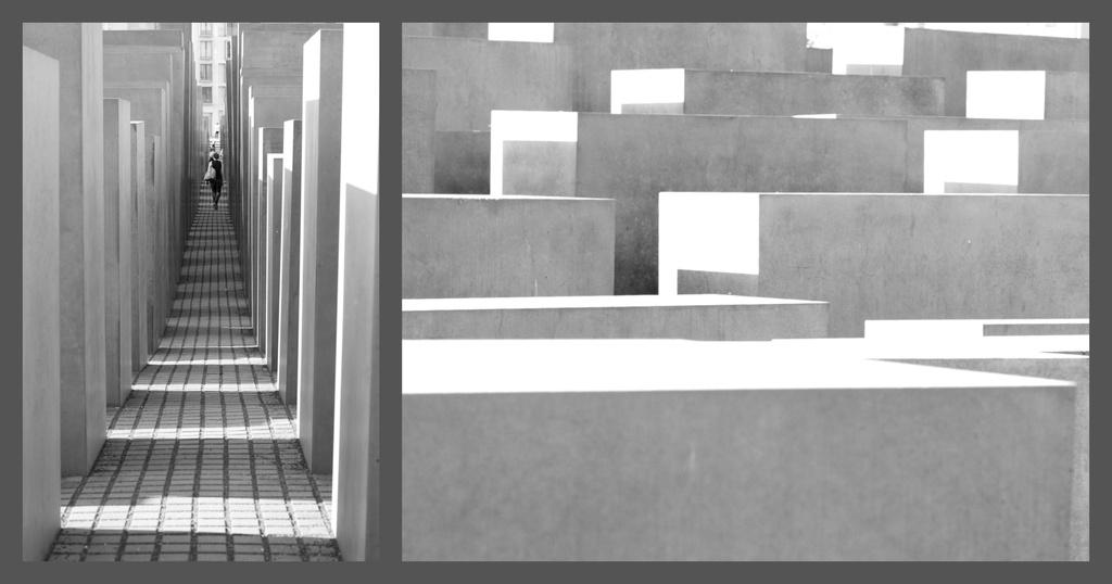 Holocaust Memorial Collage by jyokota