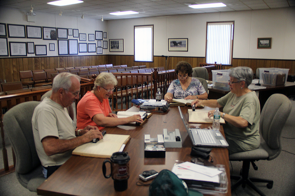 Scanning 19th Century Township Minute Books by hjbenson