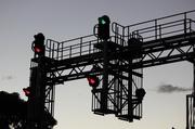 3rd Jan 2014 - Garfield signal tower...
