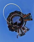 4th Jan 2014 - Tiny Planet - Newcastleworld