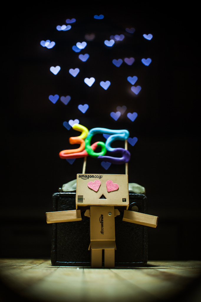 Danbo Love by grizzlysghost