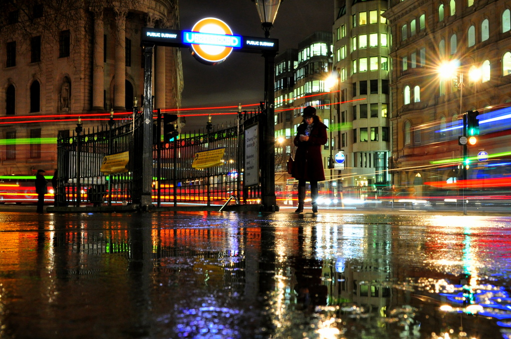 Wet Pavement by andycoleborn