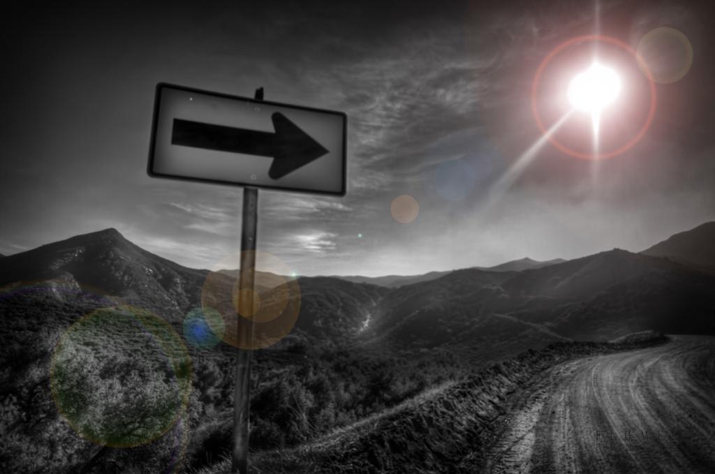 Direction  by orangecrush