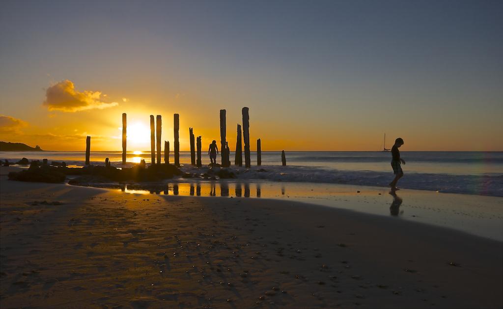 Port Willunga sunset ~ View large  by sugarmuser