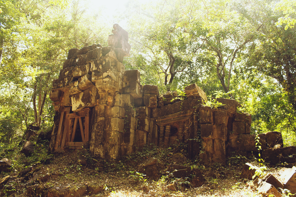 Journey to the hidden temple by lily