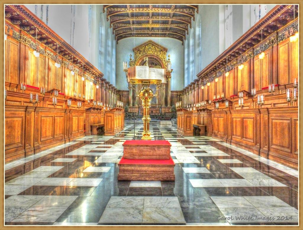 Trinity College Chapel,Cambridge by carolmw