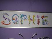 16th Jan 2014 - My name in art